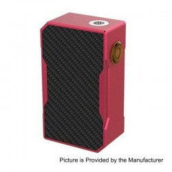 Authentic CoilART Azeroth Squonk Mechanical Box Mod - Red, Aluminum, 7ml, 1 x 18650 / 20700 / 21700