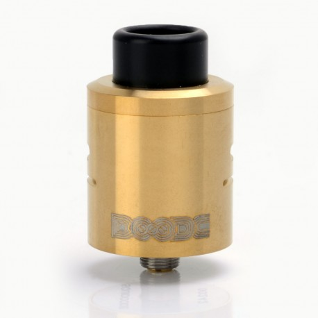 Kindbright DOODE Style RDA Rebuildable Dripping Atomizer - Brass, Brass + Stainless Steel, 24mm Diameter