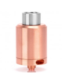 Kindbright Kennedy 24 Style RDA Rebuildable Dripping Atomizer - Copper, Copper, 24mm Diameter