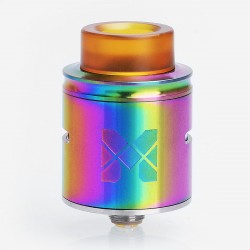 Authentic Vandy Vape MESH RDA Rebuildable Dripping Atomizer w/ BF Pin - Rainbow, Stainless Steel, 24mm Diameter