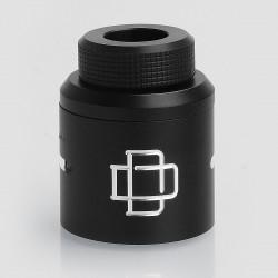 Authentic Augvape Druga RDA Top Cap Kit w/ Drip Tip - Black, Aluminum