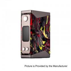 Authentic Wotofo Stentorian Basilisk 200W TC VW Variable Wattage Box Mod - Black + Red, Zinc Alloy + Resin, 2 x 18650