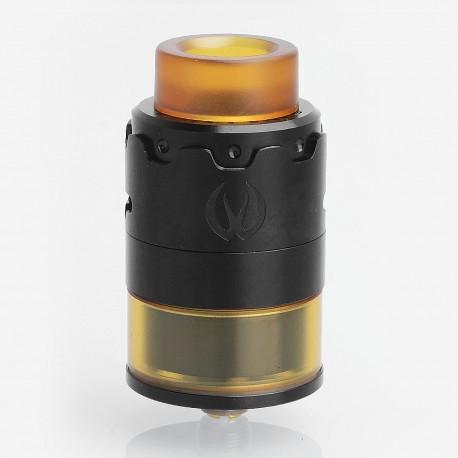 Authentic Vandy Vape PYRO 24 RDTA Rebuildable Dripping Tank Atomizer - Black, Stainless Steel, 4.5ml, 24.4mm Diameter