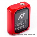 Authentic Wotofo Stentorian AT-7 100W 3500mAh Box Mod - Red, 4.2V, 0.1~3 Ohm, USB Fast Charging