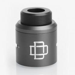 Authentic Augvape Druga RDA Top Cap Kit w/ Drip Tip - Grey, Aluminum