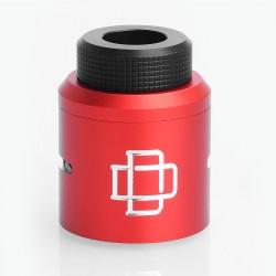 Authentic Augvape Druga RDA Top Cap Kit w/ Drip Tip - Red, Aluminum