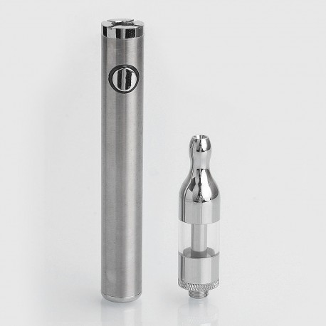 Authentic Simeiyue SMY X9 900mAh All-in-One Starter Kit - Silver, 2ml, 2.4 Ohm, 14mm Diameter