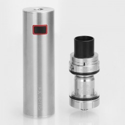 Authentic SMOKTech SMOK Stick X8 3000mAh Built-in Battery Mod + TFV8 X-Baby Tank Kit - Silver, 24.5mm, 4ml (Standard Edition)