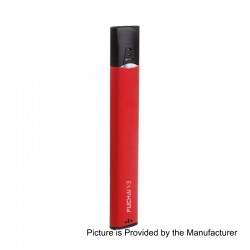 Authentic Sigelei Fuchai V3 400mAh All in One Starter Kit - Red, Aluminum + PC, 1.5ml, 1.8 Ohm