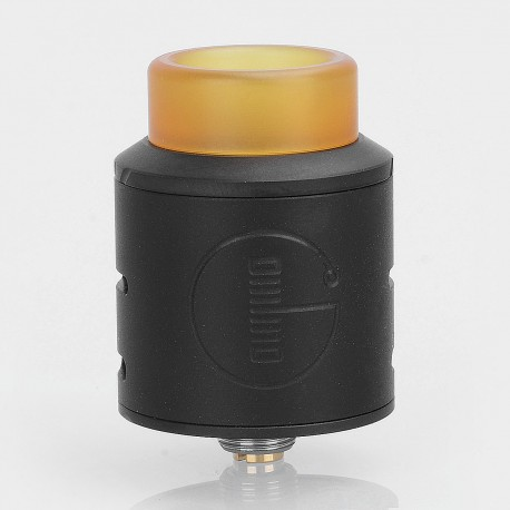 Authentic Godria Bolt RDA Rebuildable Dripping Atomizer w/ BF Pin - Black, Stainless Steel, 24mm