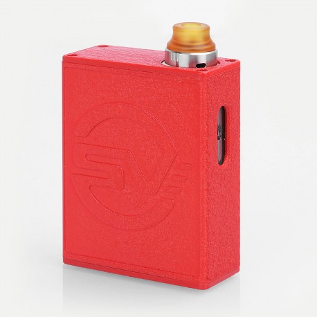 Authentic Smokjoy SV 26W 1100mAh All-in-One Starter Kit - Red, 2ml, 0.6 Ohm