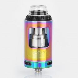 Authentic Aspire Athos Sub Ohm Tank Atomizer - Rainbow, 4ml, 25mm Diameter, Standard Version