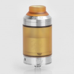 Kindbright Sherman V3 Style RTA Rebuildable Tank Atomizer - Silver, 316 Stainless Steel, 4ml, 28mm Diameter