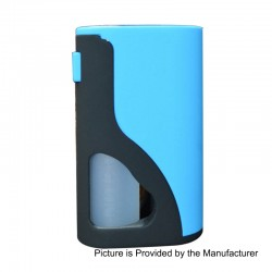 Authentic Yiloong S18 Squonk Mechanical Box Mod - Blue, POM, 8ml, 1 x 18650