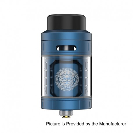 Authentic GeekVape Zeus RTA Rebuildable Tank Atomizer - Blue, Stainless Steel, 25mm Diameter, 2ml EU / TPD Edition