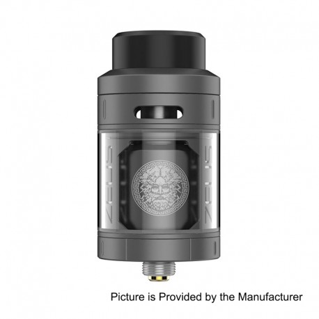 Authentic GeekVape Zeus RTA Rebuildable Tank Atomizer - Gun Metal, Stainless Steel, 25mm Diameter, 4ml Standard Edition