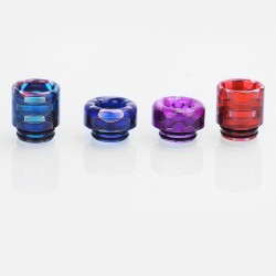 810 Replacement Drip Tip Set for TFV8 / Goon / Kennedy / Apocalypse - Random Color, Resin, 16mm + 12mm