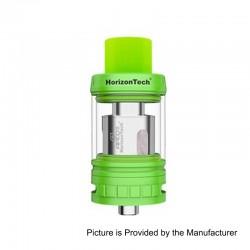 Authentic Horizon Arco II Sub Ohm Tank Atomizer - Green, Stainless Steel, 5ml, 25mm Diameter