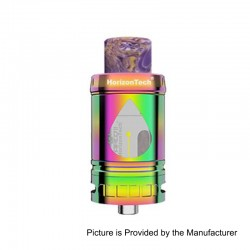 Authentic Horizon Arco II Sub Ohm Tank Atomizer - Rainbow, Stainless Steel, 5ml, 25mm Diameter