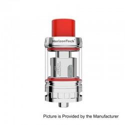 Authentic Horizon Arco II Sub Ohm Tank Atomizer - Silver, Stainless Steel, 5ml, 25mm Diameter