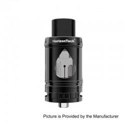 Authentic Horizon Arco II Sub Ohm Tank Atomizer - Black, Stainless Steel, 5ml, 25mm Diameter