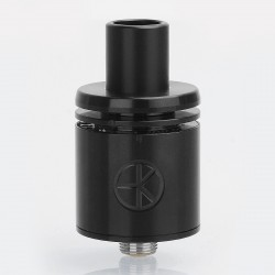 Das Tank Ding Style BF RDA Rebuildable Dripping Atomizer w/ Protective Tube - Black, 316 Stainless Steel, 22mm Diameter