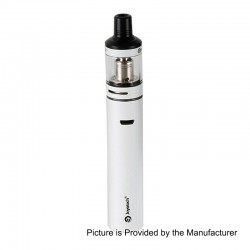 Authentic Joyetech Exceed D19 40W 1500mAh All in One Starter Kit - White, 2ml, 0.5 Ohm / 1.2 Ohm