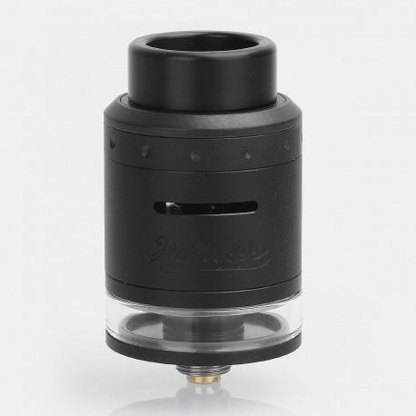 Authentic GeekVape Peerless RDTA Rebuildable Dripping Tank Atomizer - Black, Stainless Steel, 2ml, 24mm Diameter, EU / TPD