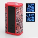 Authentic IJOY Captain PD270 234W 3000mAh TC VW Variable Wattage Mod - Red, 5~234W, 2 x 20700, 0.05~3 Ohm
