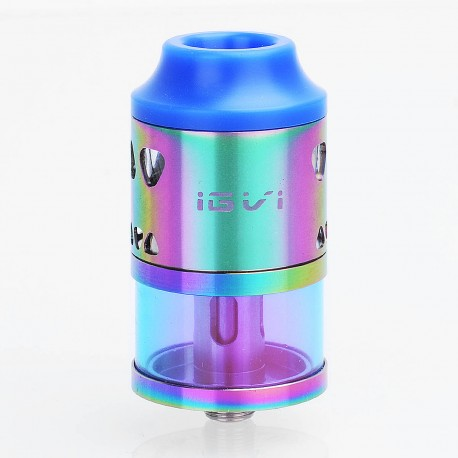 Authentic Yosta IGVI RDTA 25 Rebuildable Dripping Tank Atomizer - Rainbow, Stainless Steel, 4ml, 25mm Diameter