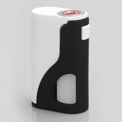 Authentic Yiloong S18 Squonk Mechanical Box Mod - White, POM, 8ml, 1 x 18650