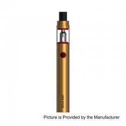 Authentic SMOKTech SMOK Stick M17 1300mAh All in One Starter Kit - Gold, Stainless Steel, 0.6 Ohm, 17.5mm Diameter