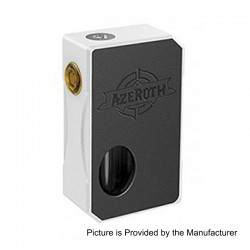 Authentic CoilART Azeroth Squonk Mechanical Box Mod - Silver, Aluminum, 7ml, 1 x 18650 / 20700 / 21700