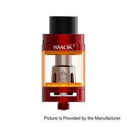 Authentic SMOKTech SMOK TFV8 Big Baby Light Edition Sub Ohm Tank Atomizer - Red, Stainless Steel, 5ml, 24.5mm Diameter