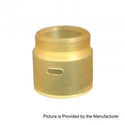 YFTK Replacement Top Cap for Entheon Style RDA - Brown, PEI