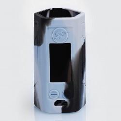 Authentic Iwodevape Protective Sleeve Case for Wismec Reuleaux RX GEN3 300W Mod - Black + Grey, Silicone