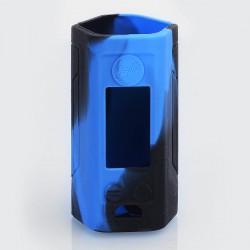 Authentic Iwodevape Protective Sleeve Case for Wismec Reuleaux RX GEN3 300W Mod - Black + Blue, Silicone