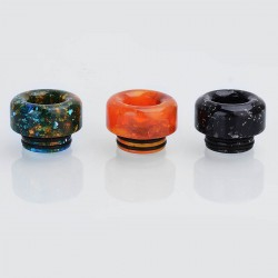 810 Replacement Drip Tip for TFV8 / Goon / Kennedy / Apocalypse - Random Color, Resin, 13mm