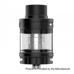 Authentic GeekVape Shield Sub Ohm Tank Atomizer - Black, Stainless Steel, 4.5ml