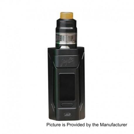 Authentic Wismec Reuleaux RX2 200W TC VW Variable Wattage Mod + GNOME Tank Kit - Black, 1~200W, 2 x 20700 / 18650, 2ml / 4ml