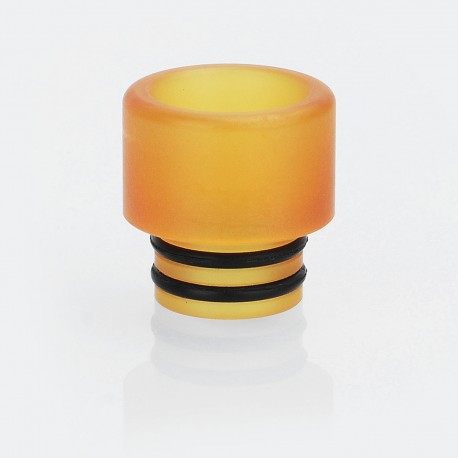 Coppervape Replacement 510 Drip Tip for NarTa Style RDTA - Brown, PEI, 12mm