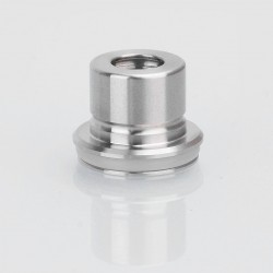 Coppervape Replacement Drip Tip for Hussar Style RTA - Silver, 316 Stainless Steel, 11.5mm