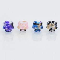 510 Replacement Drip Tip for RDA / RTA / Sub Ohm Tank - Random Color, Resin, 13mm