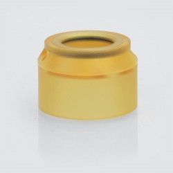 YFTK Replacement Top Cap for Sentinel Style RDA - Brown, PEI