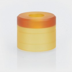 YFTK Replacement Top Cap for Haku Phenom Style RDA - Brown, PEI