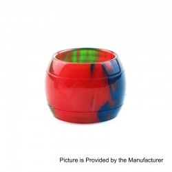 Replacement Tank Tube Sleeve for SMOKTech SMOK TFV8 X-Baby Sub Ohm Tank - Red, Resin