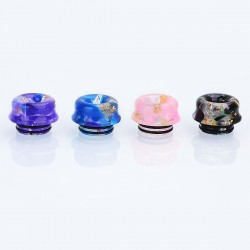 810 Replacement Drip Tip for TFV8 / TFV12 Tank / Goon / Kennedy / Mad Dog RDA - Random Color, Resin, 12mm