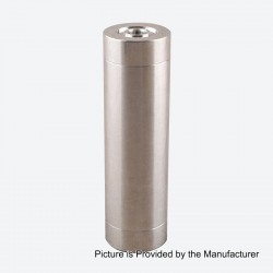 Little Cannon Style Mechanical Mod - Silver, Cupronickel, 1 x 18650