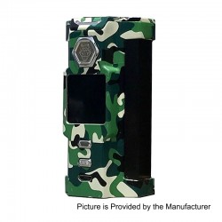Authentic Sigelei Snowwolf Vfeng 230W VW Variable Wattage Box Mod - Woodland Camouflage, 10~230W, 2 x 18650