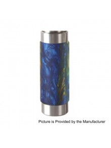 Authentic Wismec Reuleaux RX Machina Mechanical Mod - Swirled Metallic Resin, Stainless Steel + Resin, 1 x 18650 / 20700